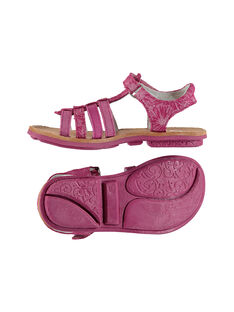 Sandali da città cinturini in pelle bambina FFSANDMIN2 / 19SK35D1D0E304