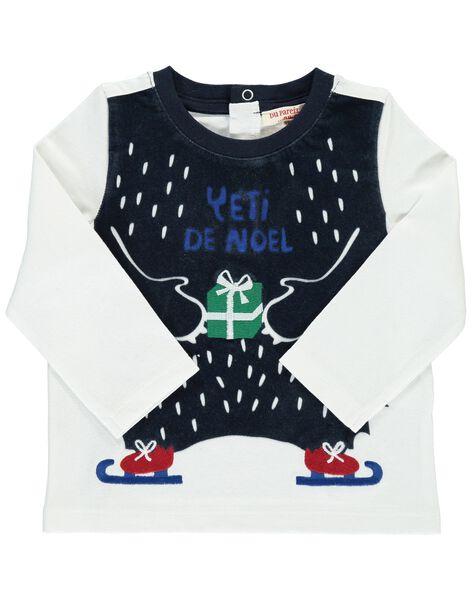 Baby boys' Christmas T-shirt DUCRATEE / 18WG10R1TML000