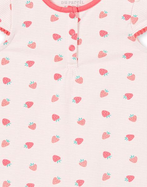 Tutina rosa chiaro neonata LEFIGREAOP / 21SH13C2GRE001