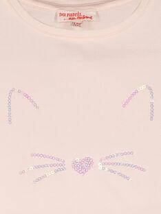 T-shirt maniche corte neonata FIJOTI3 / 19SG0933TMC307