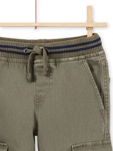 Pantaloni kaki bambino MOJOPAMAT2 / 21W90224PANG631
