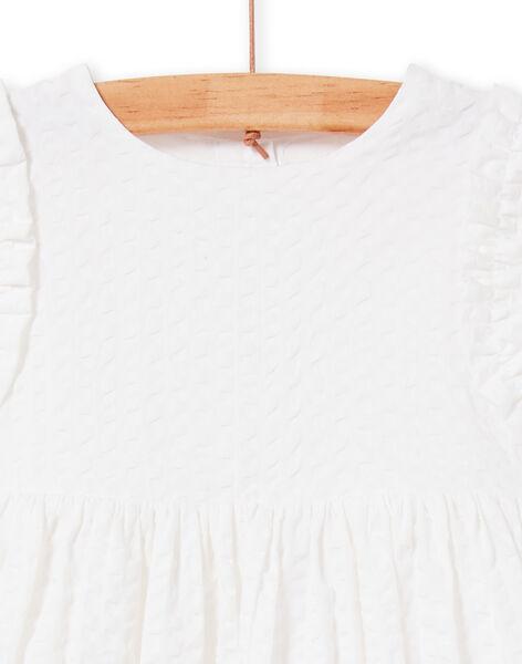 Abito bianco neonata LIBALROB2 / 21SG09O4ROB000