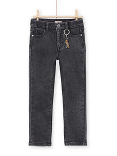 Jeans slim antracite bambino MOPAJEAN / 21W902H1JEAK004