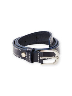 Cintura navy con cuciture in vista bambino MYOESBELT1 / 21WI02E3CEI070