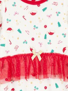Tutina natalizia in velluto neonata GEFIGRENOEL / 19WH13T1GRE001