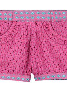 Shorts in popeline neonata FITUSHO / 19SG09F1SHO712