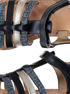 Sandali da città cinturini in pelle bambina FFSANDMIN3 / 19SK35B1D0E070