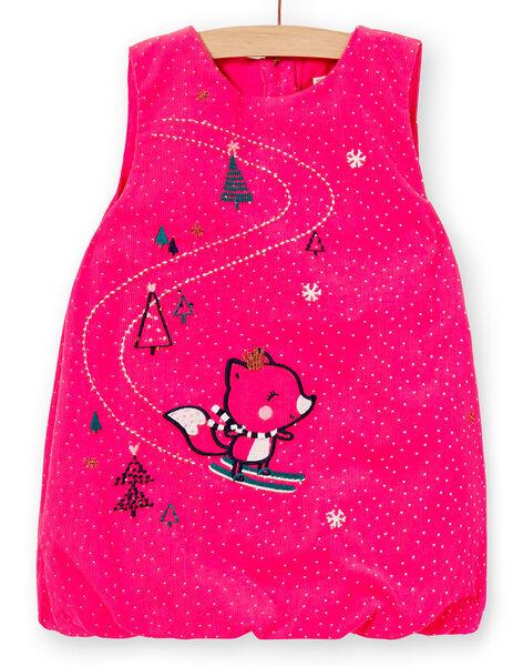 Dark pink DRESS KILUROB3 / 20WG09P1ROBD312