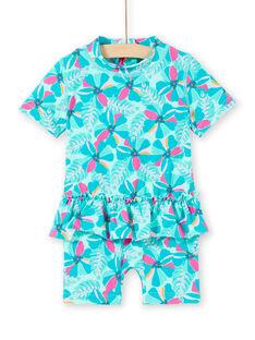 Costume da bagno turchese neonata LYICOMBEX / 21SI09DDMAIG621