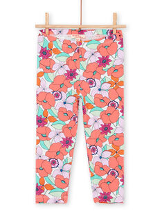Leggings multicolore bambina LYAVILEG / 21SI01U1CAL000