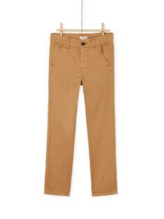 Light brown PANTS KOJOPACHI2 / 20W90235D2BI810
