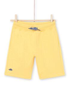 Bermuda gialli bambino LOJOBER4 / 21S902F8BERB116