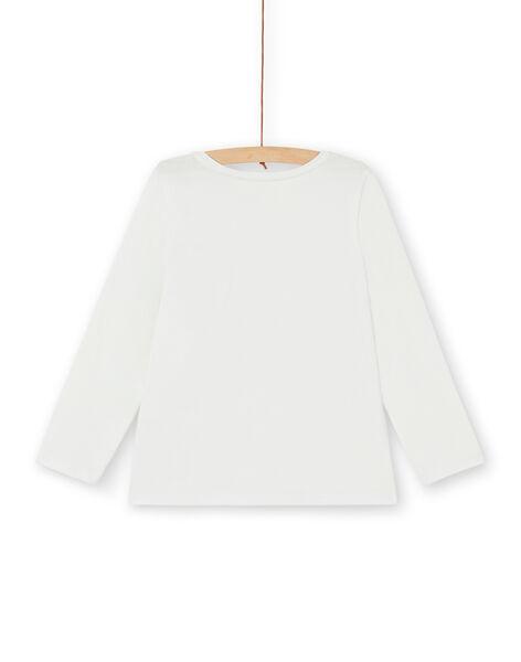 T-shirt a maniche lunghe con paillettes LAJOTEE3 / 21S90132D32001