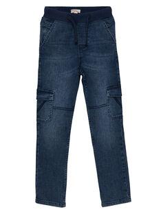Jeans bambino elasticizzati cargo denim JOESJEMAT1 / 20S90263D29P274