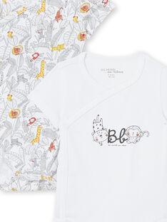 Set 2 body bianchi neonato LOU1BOD1 / 21SF05H1BOD000