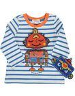 Baby boys' mask T-shirt DUBLETEE1 / 18WG1091TML099