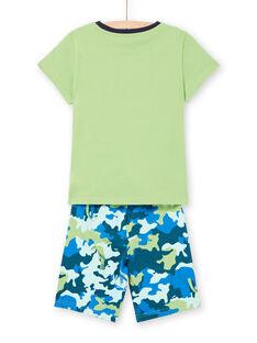 Pigiama verde e blu bambino LEGOPYCANI / 21SH12C8PYJ617