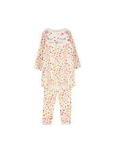 Camicia da notte e leggings bambina FEFACHUEXO / 19SH1141CHN001