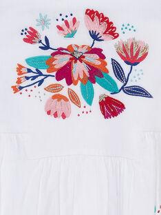 Abito senza maniche ricamato con stampa a fiori JAMAROB2 / 20S901P4ROB000