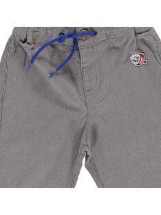 Baby boys' striped trousers CUBENPAN1 / 18SG10G2PAN099