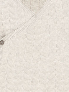 Cardigan neonato unisex FOU1GIL / 19SF0511GIL943