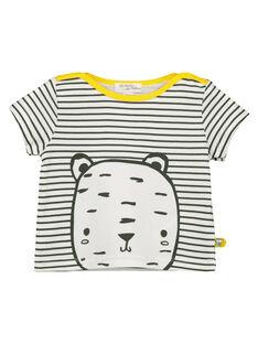 T-shirt a righe neonato unisex FOU2TI1 / 19SF05J1TMC000