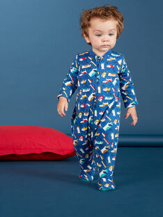 Medium blue ROMPER KEGAGRECAT / 20WH14C1GRE208