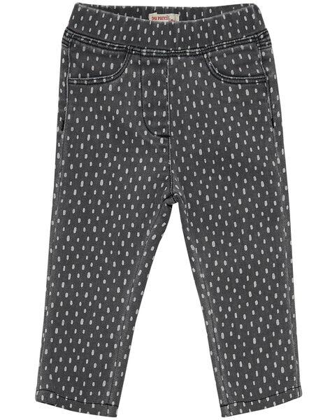 Jeans con stampa neonata JIJOPAN2 / 20SG0941PANK004