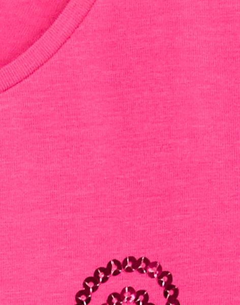 Pink LONGSLEEVE T-SHIRT KAJOTEE1 / 20W9013AD32D320