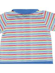 Baby boys' short sleepsuit CEGUGREJUR / 18SH1464GRE099