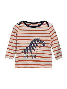 T-shirt maniche lunghe neonato FUBATEE2 / 19SG1062TML099