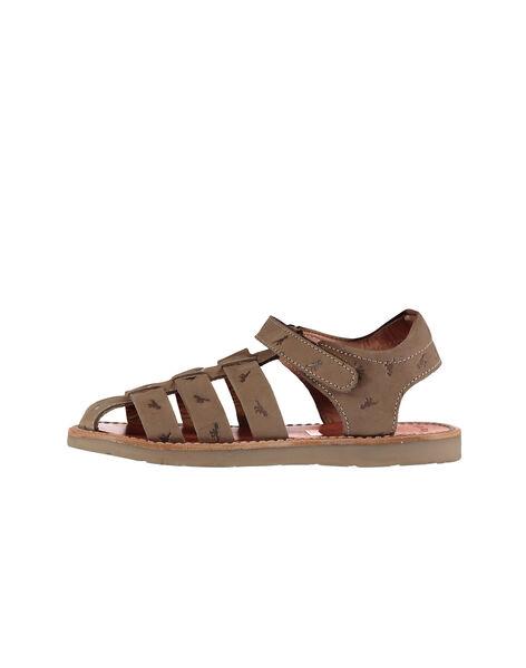 Sandali da città in pelle bambino FGSANDINO2 / 19SK36C2D0E803