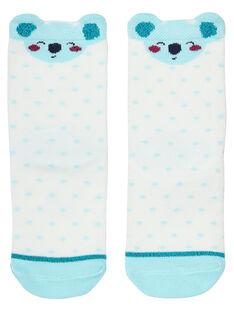 Calze neonata bianche con koala JYICLOCHO / 20SI0911SOQ001