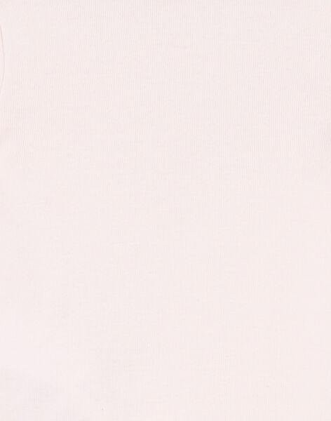 Body corredo bambina a maniche corte stampa cuore iridescente LEFIBODTRE / 21SH1324BDLD322