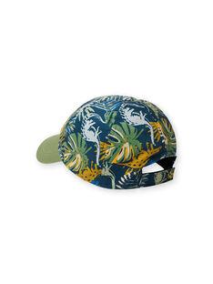 Cappellino verde, blu e arancione bambino LYOVERCAP / 21SI02Q1CHAG631