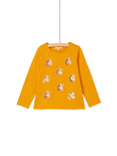 Yellow T-SHIRT KAGOTEE2 / 20W901L1TML107