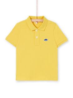 Polo giallo - Bambino LOJOPOL5 / 21S90243POL102