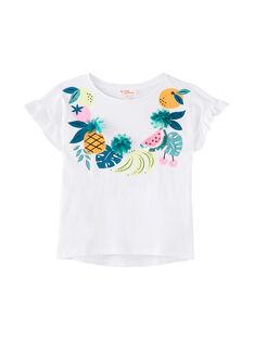 T-Shirt Maniche Corte Bianca JAQUATI1 / 20S901R1TMC000