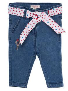 Jeans bleach neonata JICEAPAN / 20SG09N1PANP272