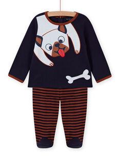 Completo pigiama con motivo cane bambino MEGAPYJDOG / 21WH1481PYJC205