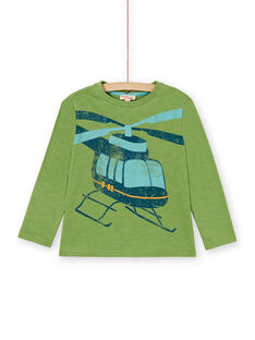 Green T-SHIRT LOJOTEE4 / 21S90233TMLG626