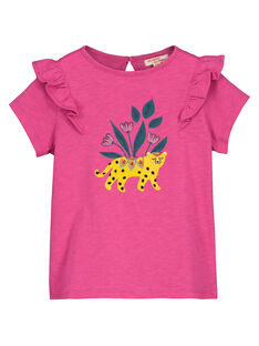 T-shirt fantasia bambina FATUTI3 / 19S901F3TMC712