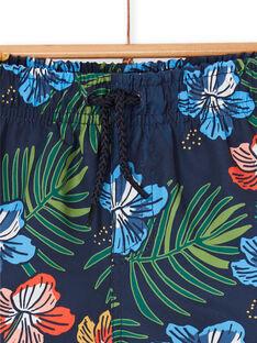 Costume shorts blu notte bambino LYOMERBOXTRO / 21SI02DCMAI705