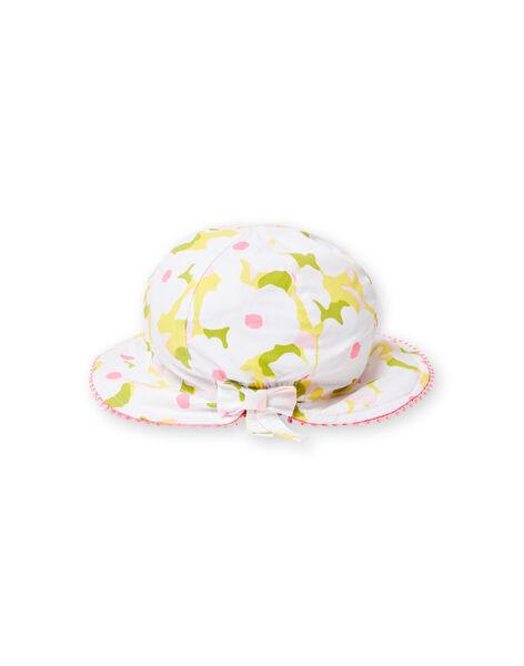 Cappello a fiori neonata LYIBALCHA2 / 21SI09O1CHA000