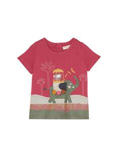 T-Shirt Maniche Corte Rosa JUDUTI2 / 20SG10O2TMC312