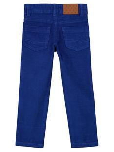 Pantaloni in Velluto Indaco Regular GOJOPAVEL3 / 19W90234D2B720