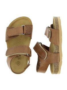 Baby boys' leather sandals CBGNUVEL1 / 18SK38W8D0E804