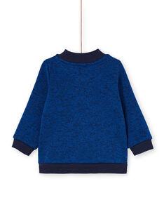 Giubbotto blu notte neonato LUJOGIL3 / 21SG1031GIL713