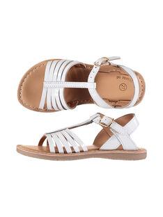 Sandali da città in pelle verniciata bambina FFSANDOLI3 / 19SK35C8D0E000