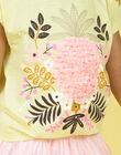 T-shirt gialla e rosa LAJAUTI2 / 21S901O2TMC116